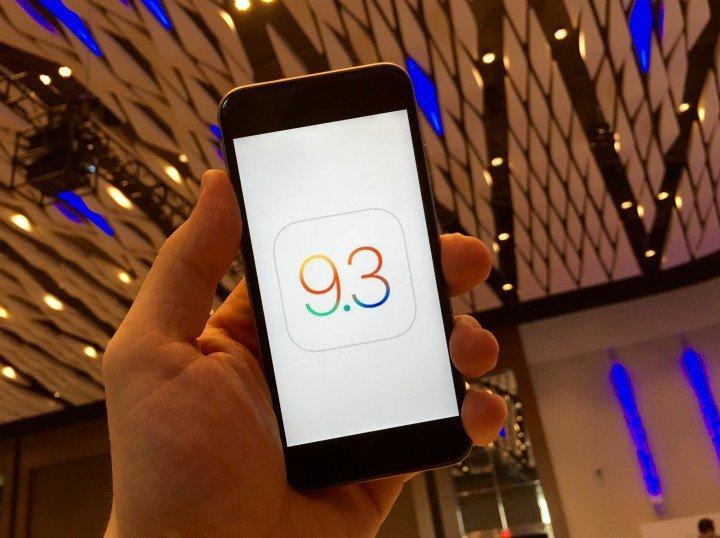 iOS 9.3.2にアップデートしてできること。