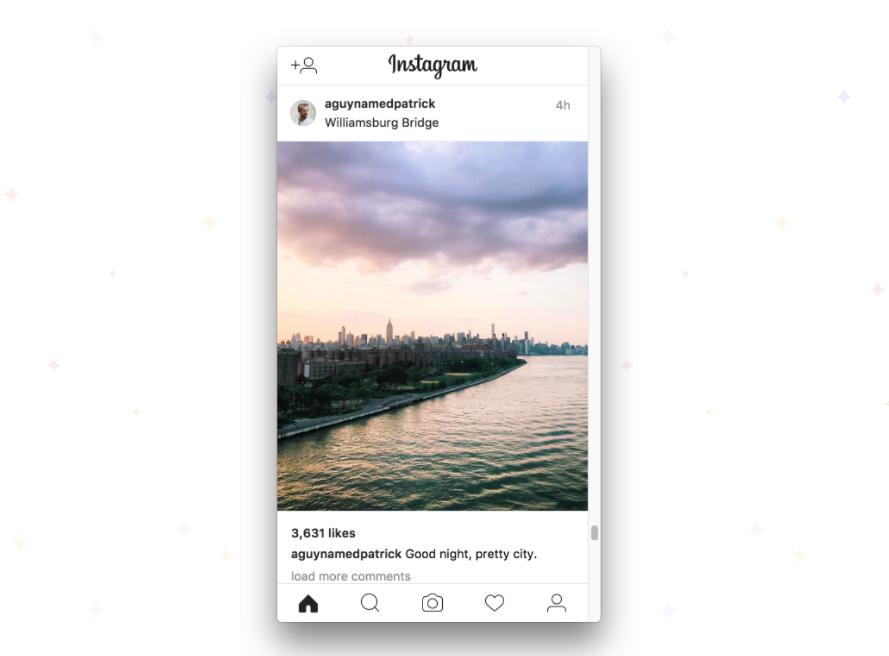 やっとでた、ついにでた。InstagramをMacから投稿できるアプリ。
