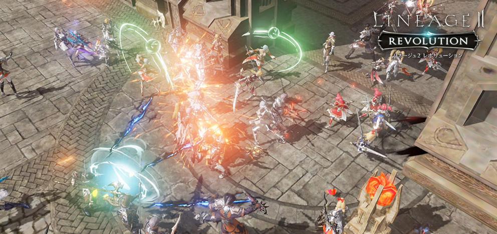 リネージュ2がやってきた!大型オンラインRPGがやってきた!